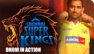 Chennai Super kings  captain Dhoni
