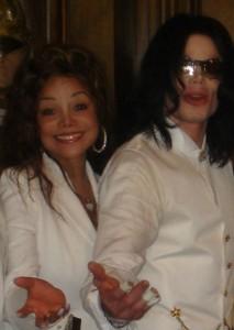 Michael Jackson and Latoya Jackson