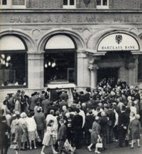 World's First ATM and First Transaction at Barclays Bank