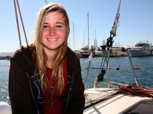 Teenage Sailor Abby Sunderland