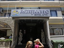 Christopher Metsos had been alone at a Cyprus hotel for nearly two weeks