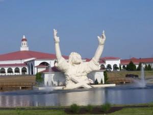 Jesus statue in Ohio struck by lightning
