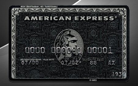 how do you get a black american express card