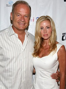 Kelsey Grammer and wife Camille