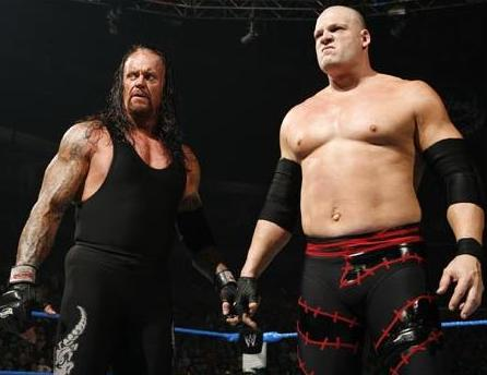 XWC Tag Team Champions Kane-and-Undertaker