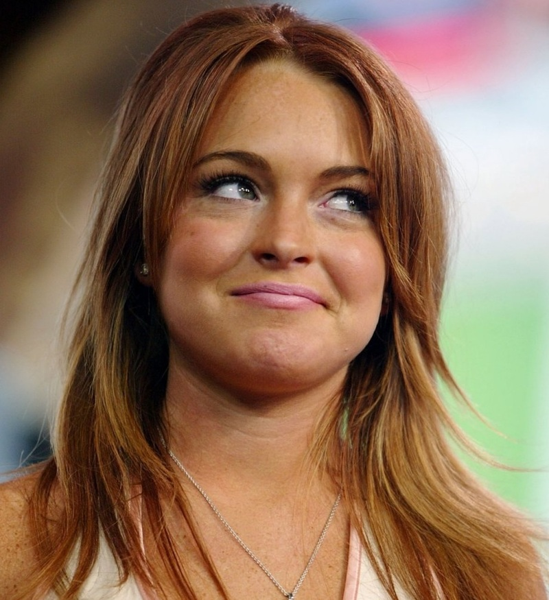 lindsay lohan drugs pictures. Lindsay Lohan Released from