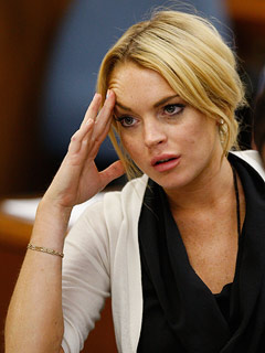 Lindsay Lohan could spend 30 days in jail this time.