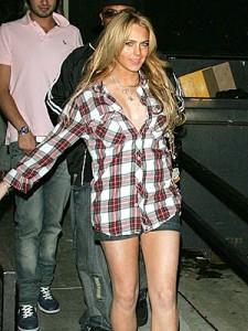 Lindsay Lohan's drug addiction