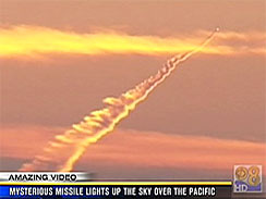 California's Mystery Missile Trail