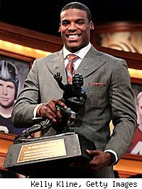 Cam Newton Wins Heisman Trophy