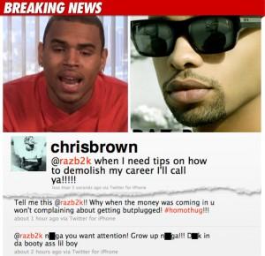Chris Brown VS B2K