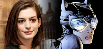 Anne Hathaway is the Catwomen