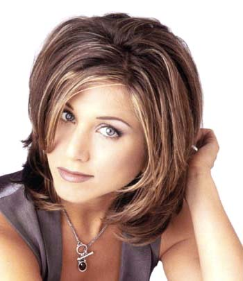 Jennifer Aniston to copy her haircut.