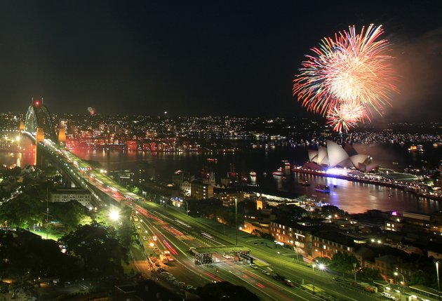 Sydney New Year 2012 Fireworks