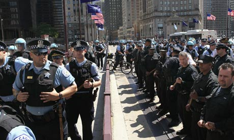 Anonymous attacks Chicago police website