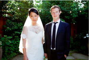Mark Zuckerberg marriage photo