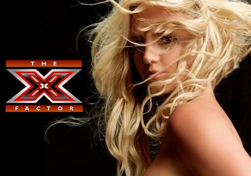 Britney spears walks off x factor