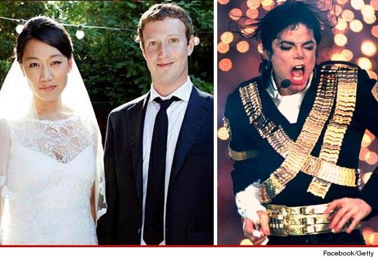 Mark Zuckerberg Wedding Michael Jackson Music in Heavy Rotation