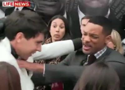Will Smith slaps reporter image