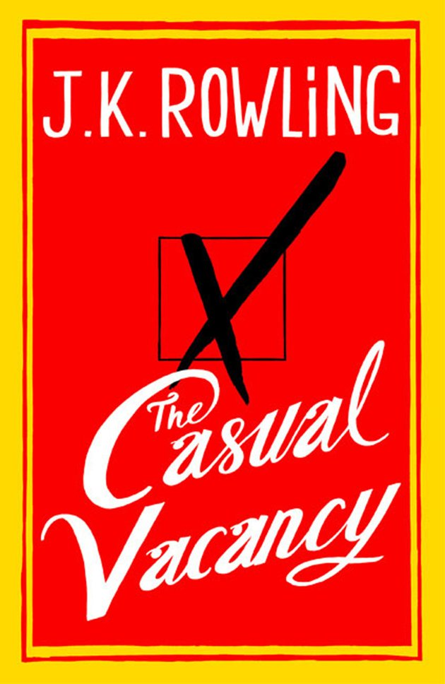 Publisher: Here's cover of new J.K. Rowling novel