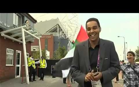 2012 Olympic Reporter Gets Surprise Kiss