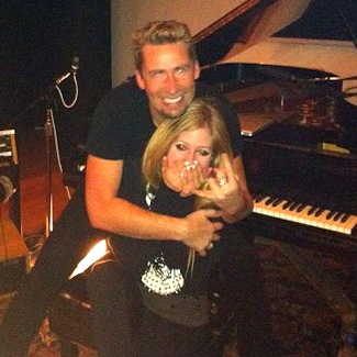 Avril Lavigne and Nickelback's Chad Kroeger are engaged