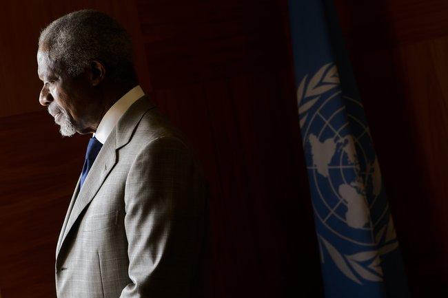 Annan Resigns as Syria Peace Envoy