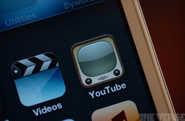 Apple yanks Google's YouTube app from iOS 6