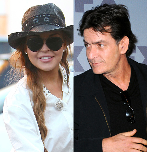 Lindsay Lohan & Charlie Sheen To Play Lovers In 'Scary Movie 5'