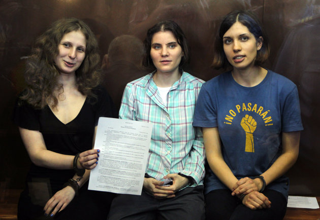 Website of court that sentenced Pussy Riot hacked