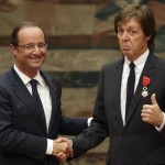 McCartney gets French legion of honor