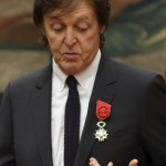 Paul McCartney displays age-old style receiving Légion d'Honneur award
