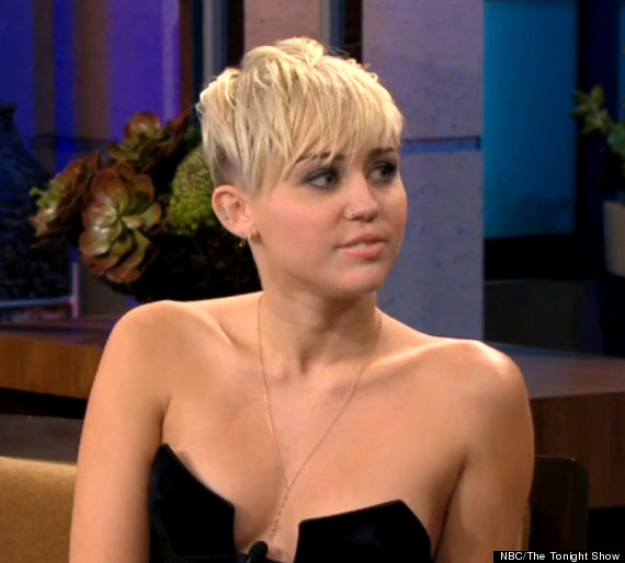 Miley Cyrus' Cleavage-Baring Top: Teen Star Risks Having A Nip Slip On