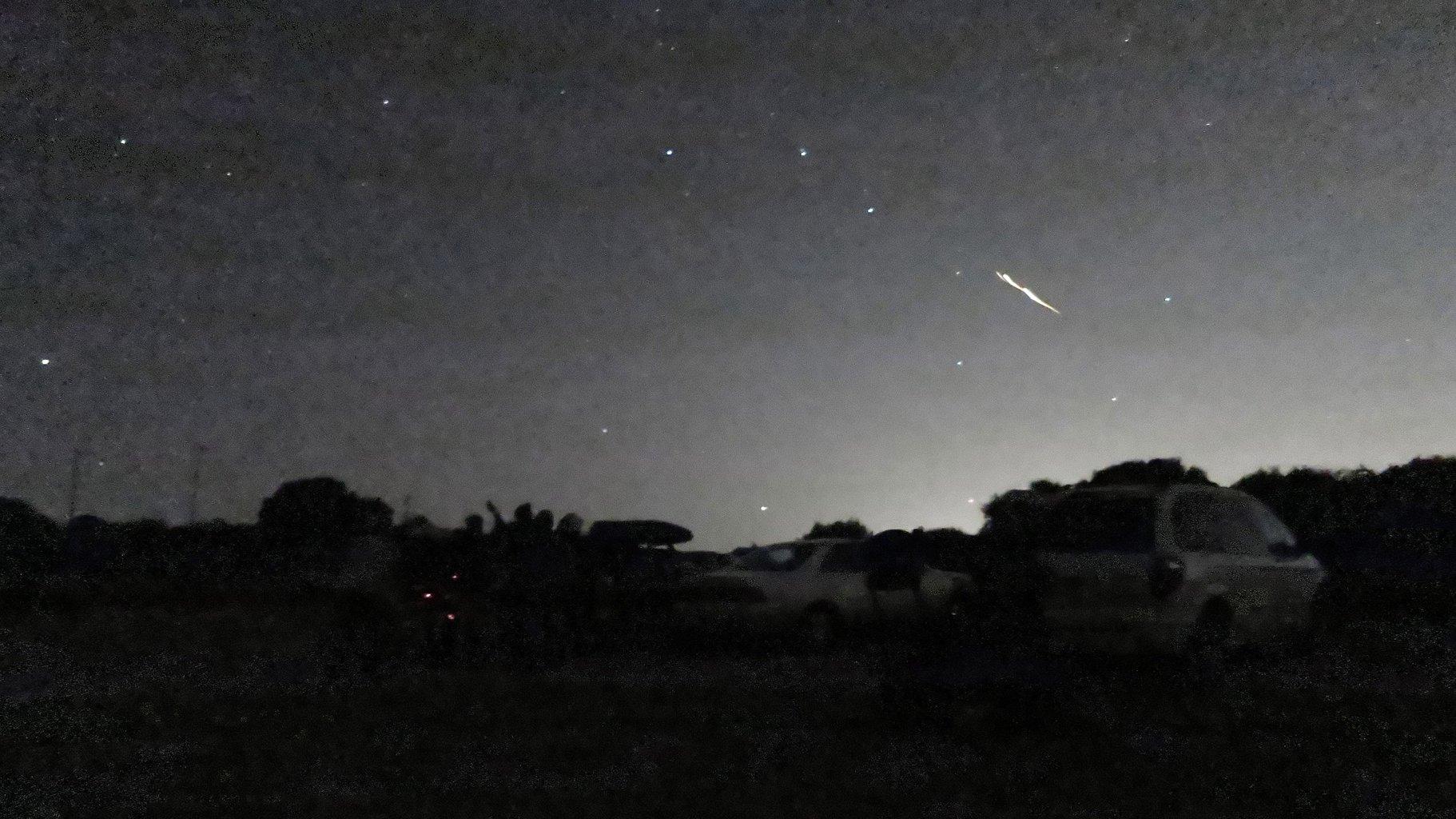 Stunning meteor lights up California sky