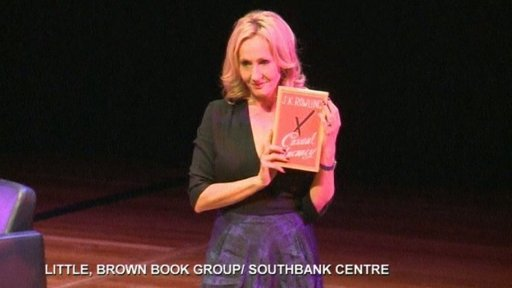 J.K. Rowling: My next book will be for kids