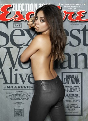 """Mila Kunis Named """"Sexiest Woman Alive"""" (PHOTOS)"""