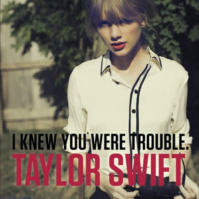 "LISTEN: Taylor Swift Releases ""I Knew You Were Trouble"" Full Song"