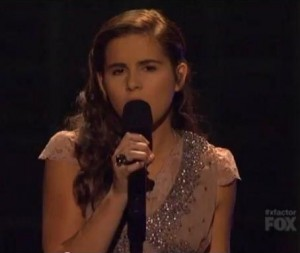 "Carly Rose Sonenclar's ""Incredible"" 'My Heart Will Go On' Cover on X Factor (VIDEO)"