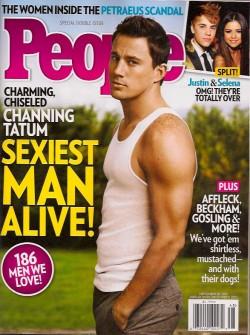 "People -  Channing Tatum ""Sexiest Man Alive"""