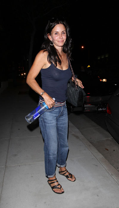 courteney cox without makeup