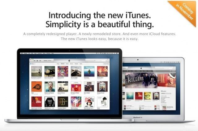 iTunes 11 – what's new?