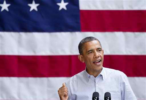 President Obama wins 2012 election