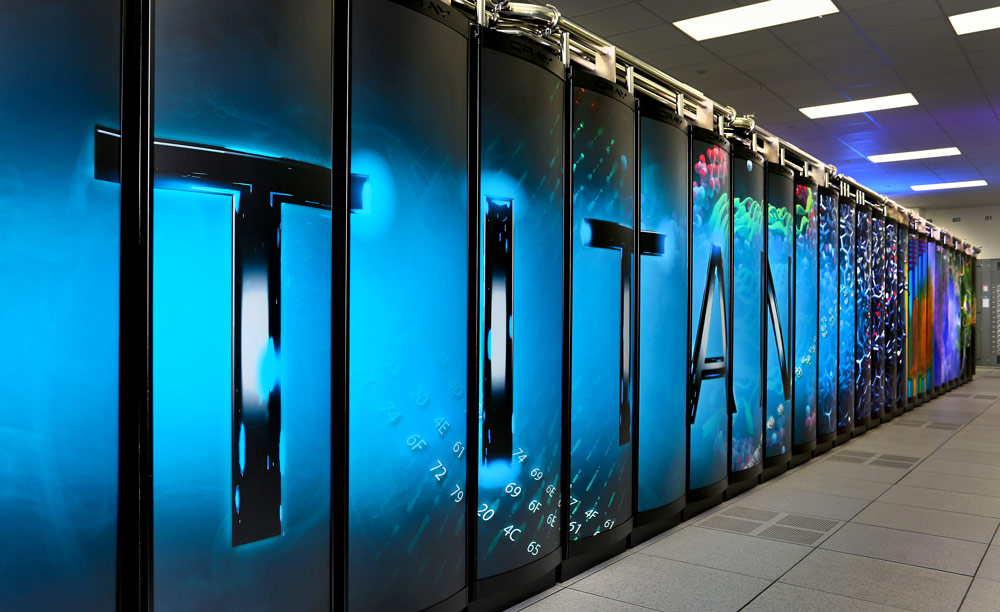 'World's Fastest Supercomputer' Titan