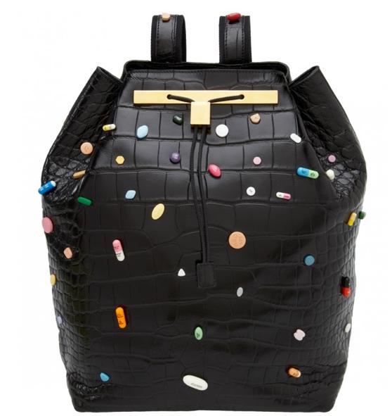 Mary-Kate & Ashley Olsen $55,000 Backpacks Covered in Prescription Pills