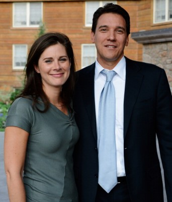 Erin Burnett CNN's Anchor Weds David Rubulotta