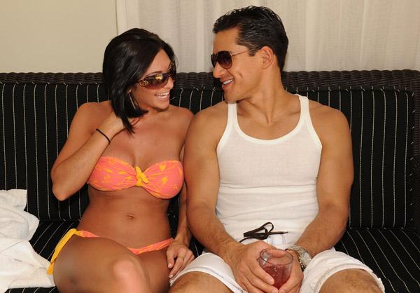 Mario Lopez and Courtney Mazza Wedding