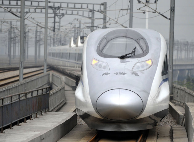 World's Longest Fast Train Lane Opens in China