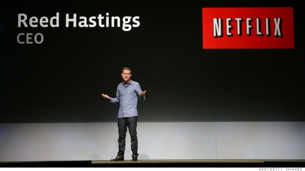 Netflix doubles CEO Reed Hastings' pay