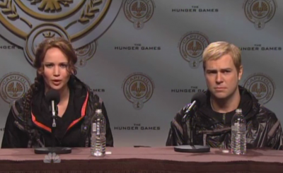 SNL Spoof Hunger Games Spoof Jennifer Lawrence