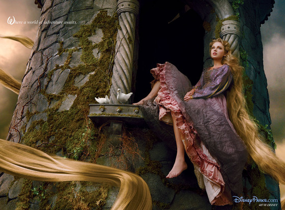 Taylor Swift as Rapunzel (PHOTO)
